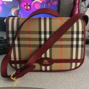 AUTHENTIC Burberry handbag 1980's